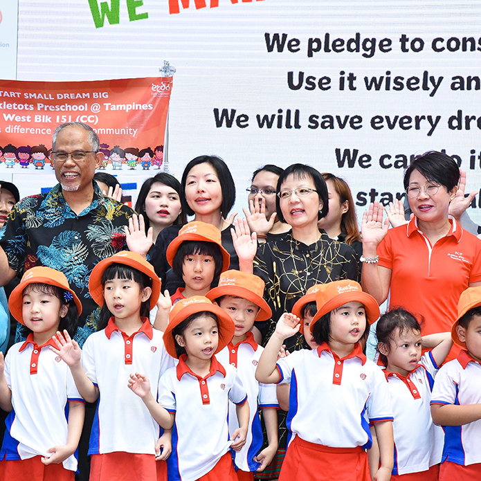PCF Sparkletots Celebrates Singapore World Water Day