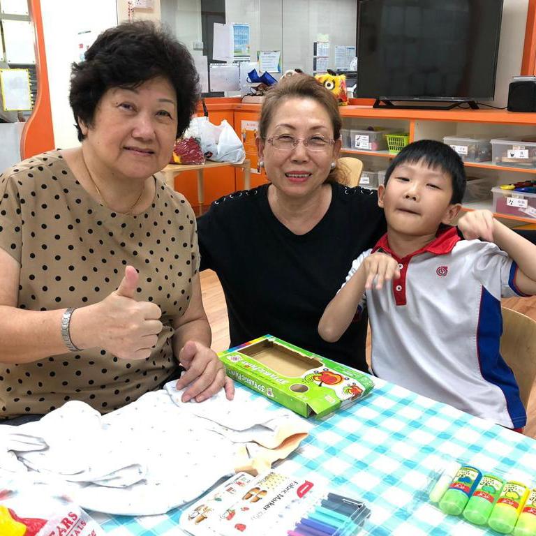 Extending collaboration beyond parents, Grandparents' Support Group