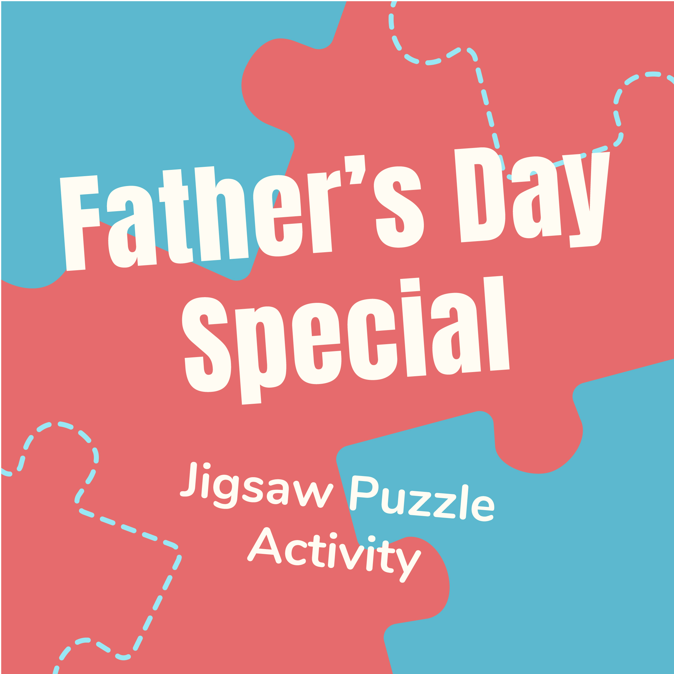 Father's Day Jigsaw Puzzle Activity