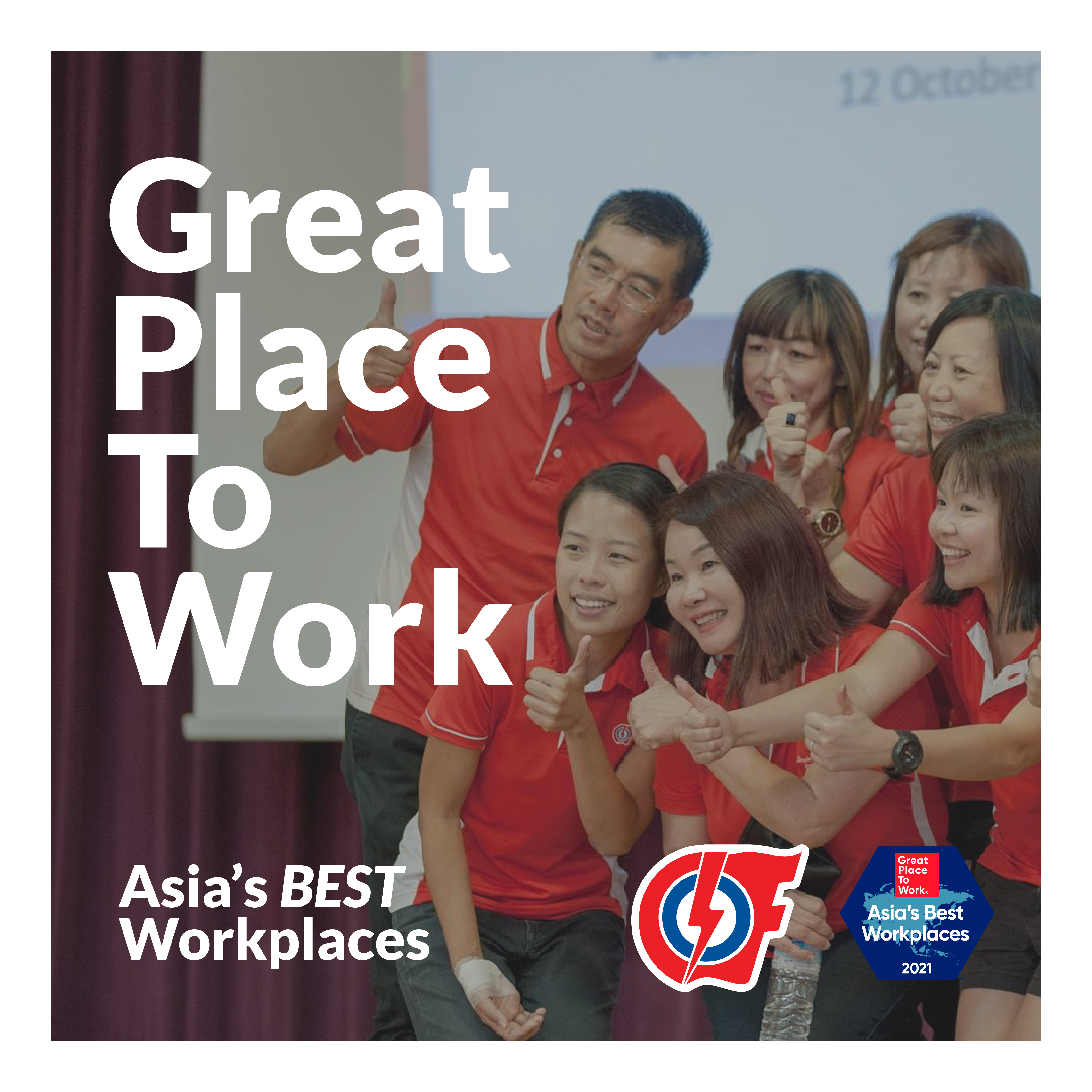 PAP Community Foundation named Best Workplace in Asia